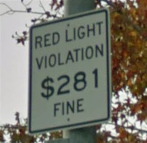 Light Ticket California by Photo Enforced February 2014