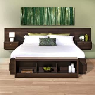 Ikea Platform Storage Bed by Wood Headboards For Less Overstock Com