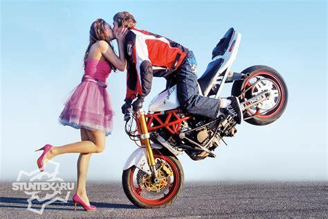 Motorrad Kuss by трюки