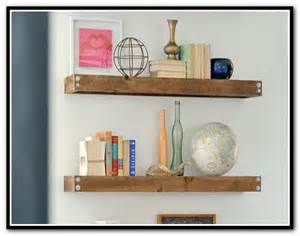 Build floating corner shelves home design ideas