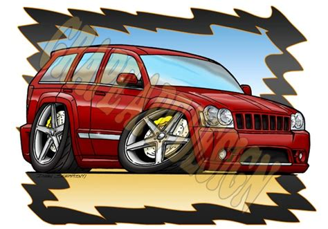 cartoon jeep cherokee 50 best images about my automotive designs cartoons on