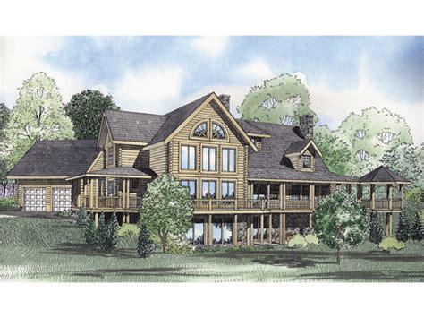 montana house plans montana bay luxury log home plan 073d 0035 house plans