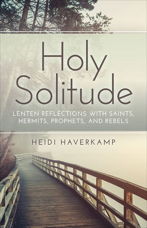 holy solitude paperback heidi haverk pc usa store