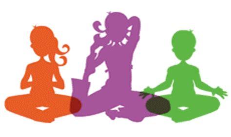 yoga zen clip art free kids doing yoga clipart clipground