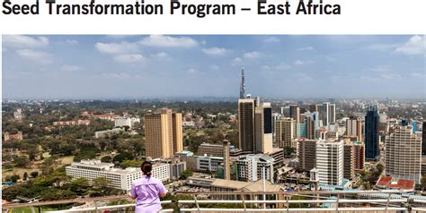 Stanford Mba Internships by Stanford Seed Transformation Program 2016 East Africa