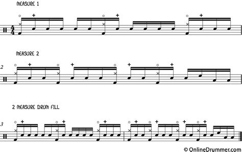 drum tutorial for intermediate drum lessons rock pop drum fill intermediate level