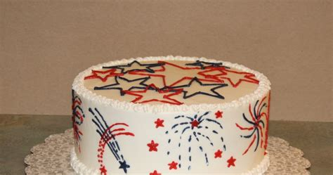 party cakes fireworks cake