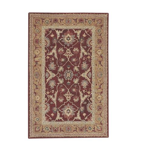 area rugs home decorators home decorators collection jaipur red 9 ft 9 in x 13 ft