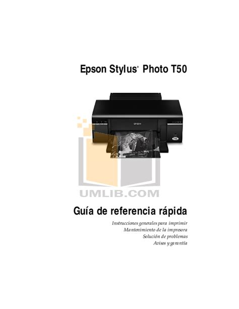 reset epson t50 manual download free pdf for epson stylus photo t50 printer manual