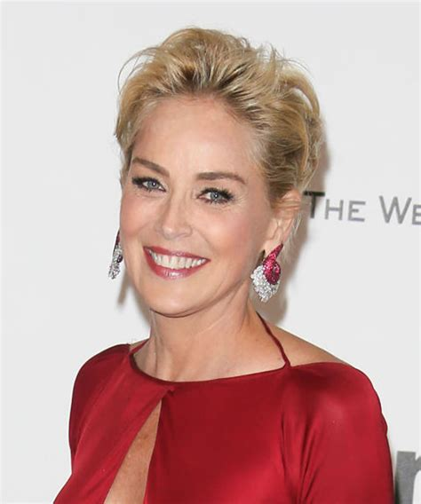 sharon stone short hair on round face over 50 short hairstyles 2018 hairstyles