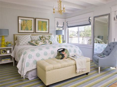 light blue gray and yellow room bedroom ideas