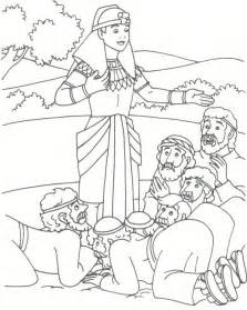joseph coloring pages joseph bible coloring pages joseph reveils his identity