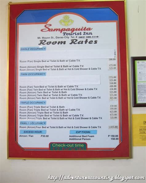 inn room rates adventure accounting quot balancing on a budget quot hostel reviews saguita inn and myhotel