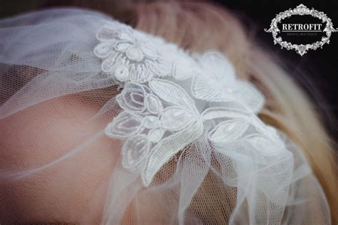 Wedding Hair Accessories Tulle by Ivory Bridal Tulle Birdcage Veil Retro Wedding Hair