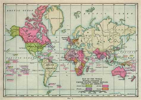united states map in the world book the geography of the great war by frank m mcmurry