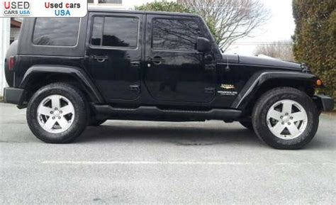 Jeep Price In Usa For Sale 2007 Passenger Car Jeep Wrangler Chambersburg