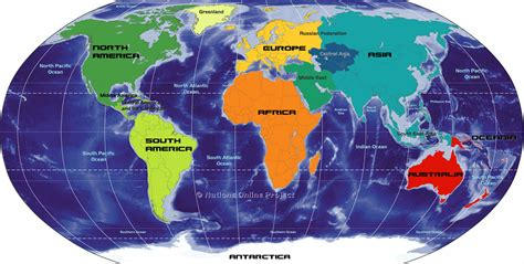 world map image continents world map continents topix