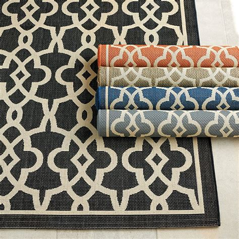 outdoor rugs discount beaufort indoor outdoor rug ballard designs
