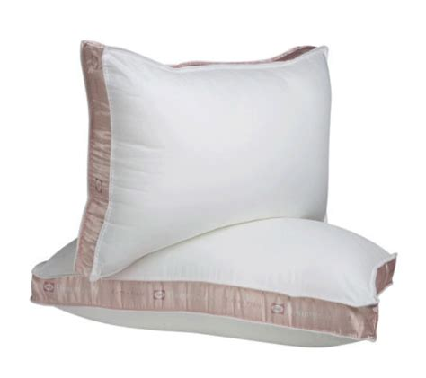 Posturepedic Pillows by Sealy Posturepedic Firm Support Maxiloftpillows Qvc