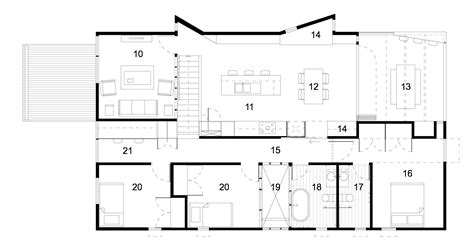suburban house floor plan gallery of suburban beach house david barr ross brewin