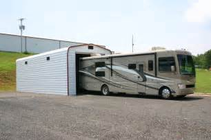 Trailer Garage Rv Carports Amp Rv Metal Buildings Steel Building Garages