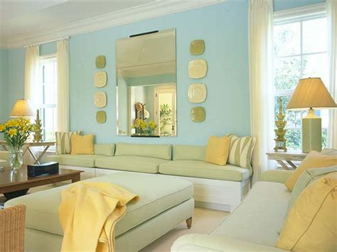 Green Yellow Living Room home improvement and design