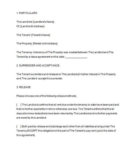 agreement to vacate letter notice to vacate template 10 free word excel pdf format free premium templates
