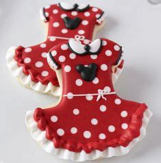 Dress Mickey Premium minnie mouse cookies my cookie creations