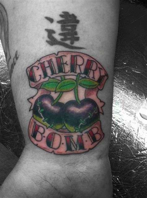 cherry bomb tattoos designs ideas and meaning tattoos