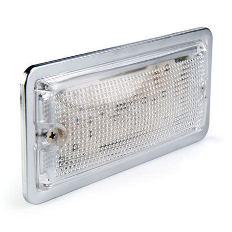 rectangle led lights 5 75 rectangular led dome light fixture w chrome housing