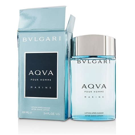 Parfum Bvlgari Aqva Marine bvlgari aqva pour homme marine after shave lotion box slightly damaged fresh
