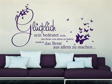Beste Farben Zum Der Küchen Kabinette Zu Malen by Wandtattoo Gl 252 Cklich Sein Bedeutet Das Beste