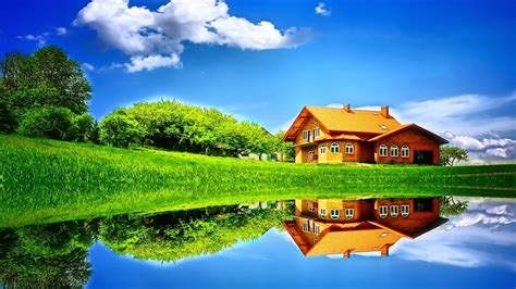 wallpapers for the home grass home sky hd wallpapers large hd