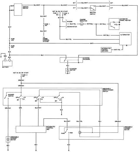 honda alternator wiring diagram 31 wiring diagram images