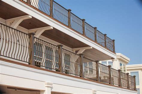 copri ringhiera ringhiere balconi condominio ringhiera effetto legno with