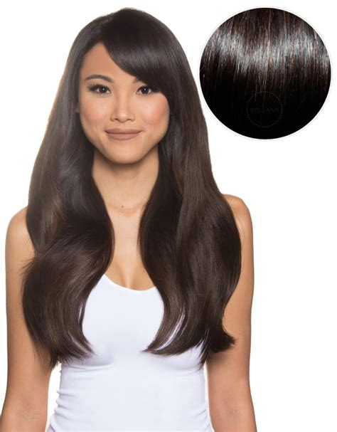 What Color Is Closest To Bellami 1c | bambina 160g 20 mochachino brown 1c by clip in hair