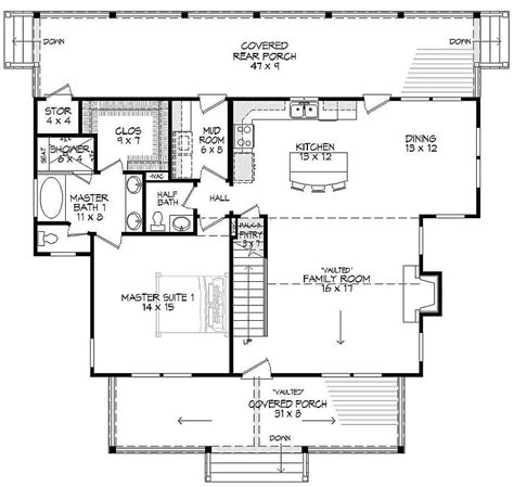 bhg floor plans featured house plan bhg 9721