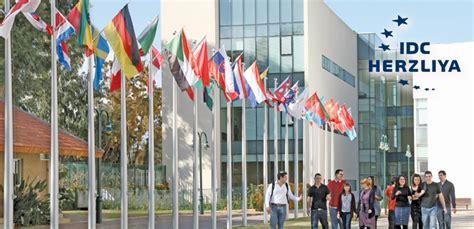 Idc Herzliya International Mba by Global Master Finance Idc Israel Washu Olin Business