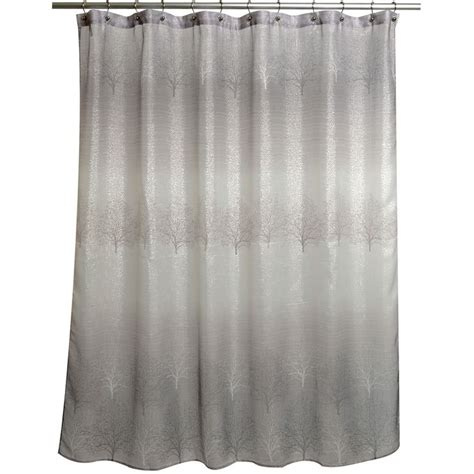 Spectrum Grey Ombre Shower Curtain
