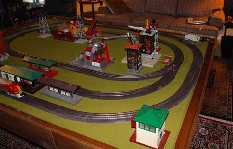 living room train layout weathering lionel fastrack o gauge railroading on line forum