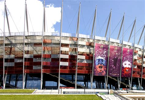 Fassadenverkleidung Aus Polen by Fassadenverkleidung Aus Streckmetall Nationalstadion In