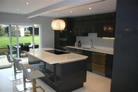 Kitchen Cabinets In Surrey by Kitchen Case Study Wallington Surrey Blok Designs Ltd