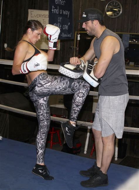 amanda righetti boxing    shape santa monica