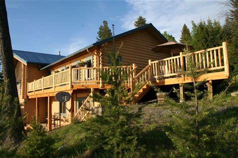 Flathead Lake Cing Cabins by Flathead Lake Bigfork Log Cabin Spectacul Vrbo