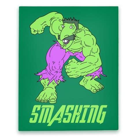 Smashing Meme - smashing hulk parody canvas smashing nigel thornberry