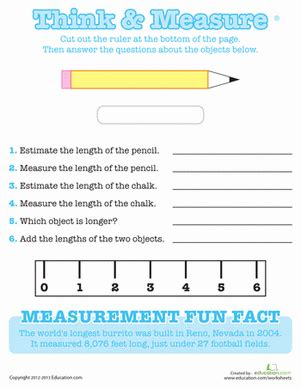 printable ruler 2nd grade using a ruler worksheet education com