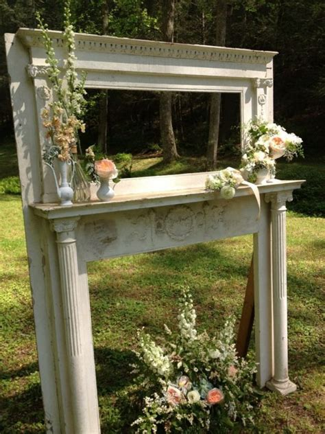 Fireplace Wedding Altar by 1000 Images About Mantels On Fireplaces Faux