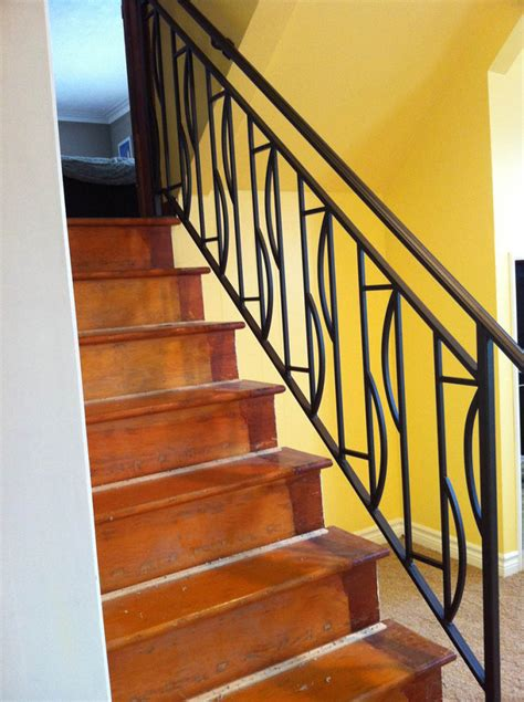 Wrought Iron Stair Railing Interior by Interior Wrought Iron Railing Guardrail