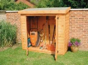 Small Side Shed Small Sheds Sheds And Lawn Mower On