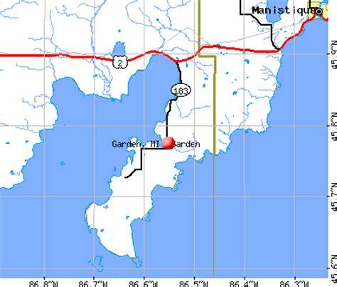 Garden City Mi Zip Code by Garden Michigan Mi 49835 Profile Population Maps